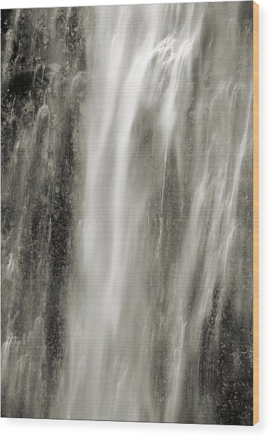 Multnomah Cascade 4 Platinum Wood Print