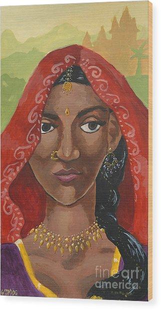 Mumbai Wood Print