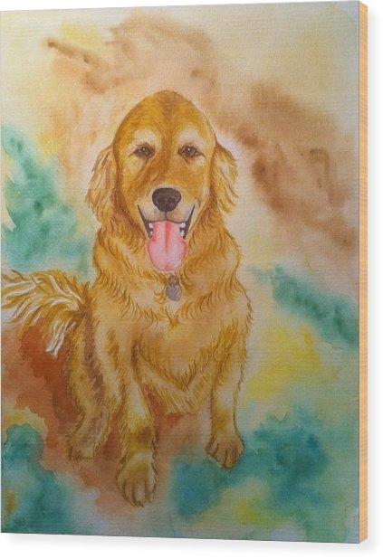 Murphy 2 Wood Print
