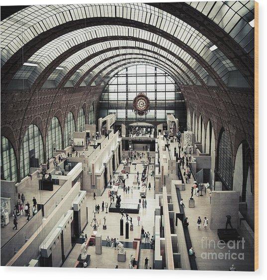 Musee D'orsay II Wood Print