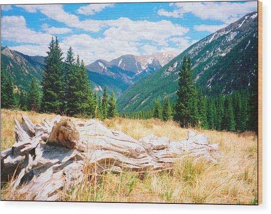 Music Pass Basin Wood Print by Daniel Dodd