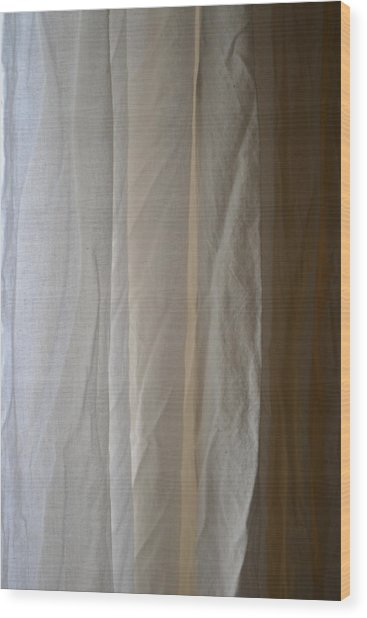 Muslin Morning Light Wood Print