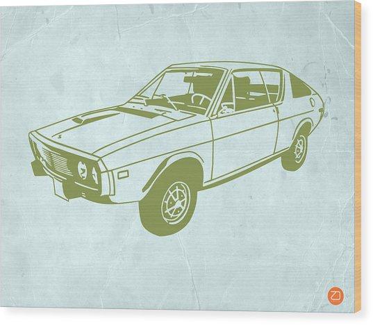 My Favorite Car 2 Wood Print