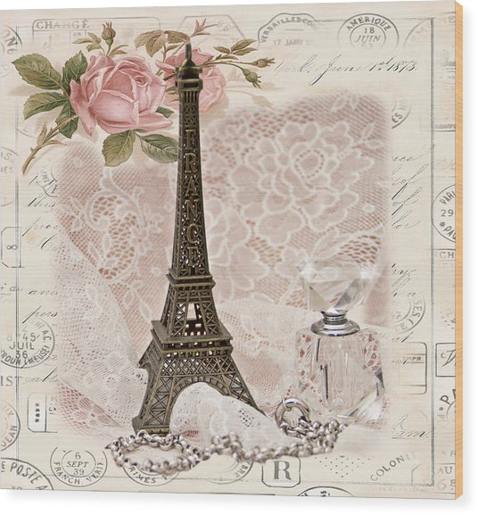My Paris Wood Print