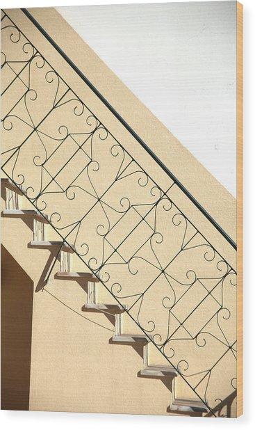 My Way Up Wood Print by Jez C Self