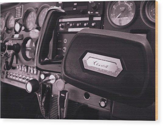 N21957 Wood Print by Emma Quedzuweit