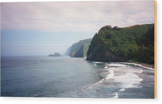 Na Pali Coast Wood Print