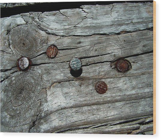 Nails Wood Print