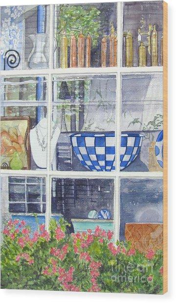 Nantucket Shop-lecherche Midi Wood Print