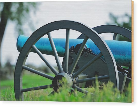 Napolean 12 Pounder Cannon Wood Print
