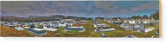 Narooma Cemetery Wood Print by Joanne Kocwin
