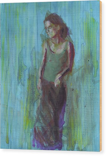 Natalie Wood Print by Eric Atkisson