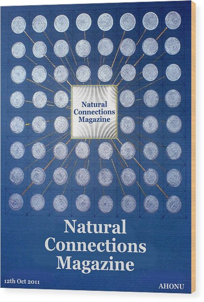 Natural Connections Magazine Wood Print