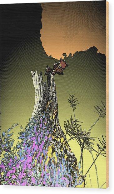 Nature's Dress Wood Print