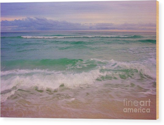 Navarre Sunset Wood Print