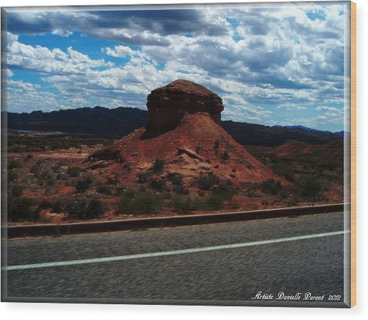 Nevada Usa Wood Print