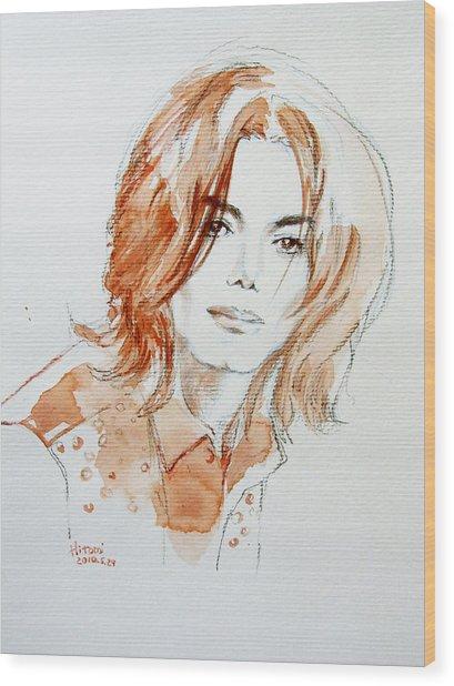 New Inner Beauty Wood Print by Hitomi Osanai