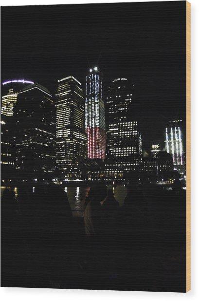 New York City Freedom Tower Wood Print