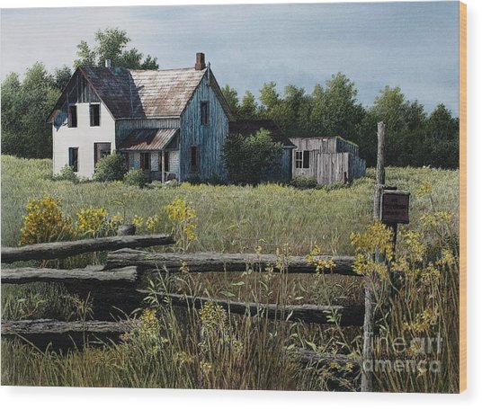 Newboro Farmhouse Wood Print