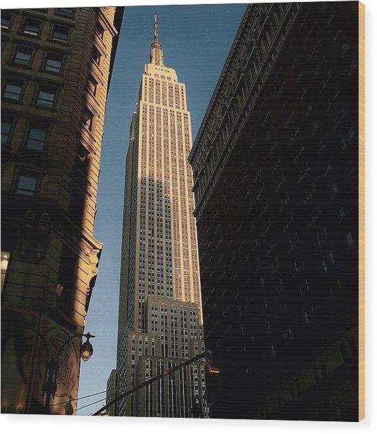 #newyorker #newyork #ny #empire Wood Print