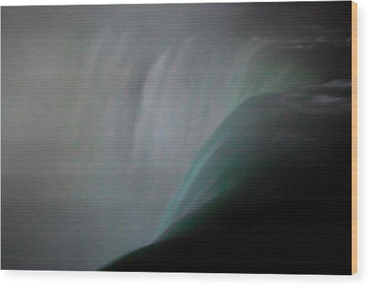 Niagara - Thundering Water Wood Print by Michael Braxenthaler