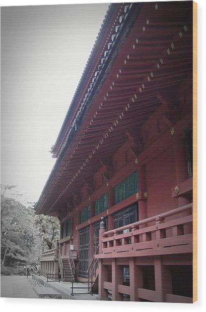 Nikko Monastery Wood Print