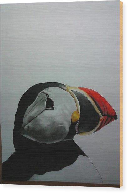 Nordic Birds Wood Print by Per-erik Sjogren
