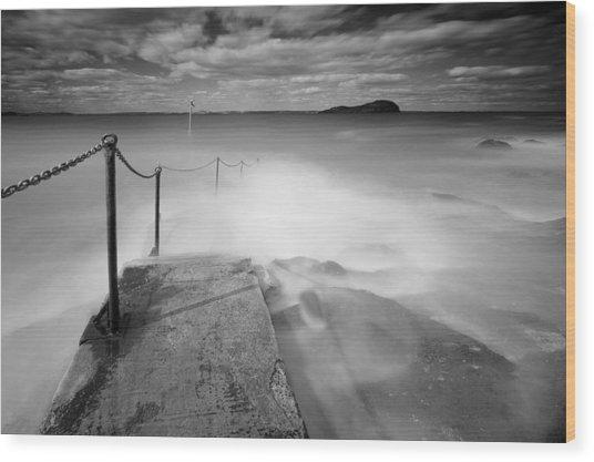 North Berwick Harbour Wood Print by Keith Thorburn LRPS AFIAP CPAGB