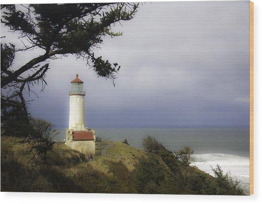 North Head Lighthouse Wood Print
