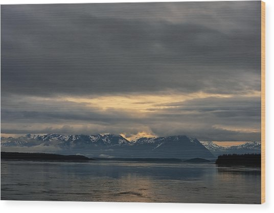 North Pacific Wood Print