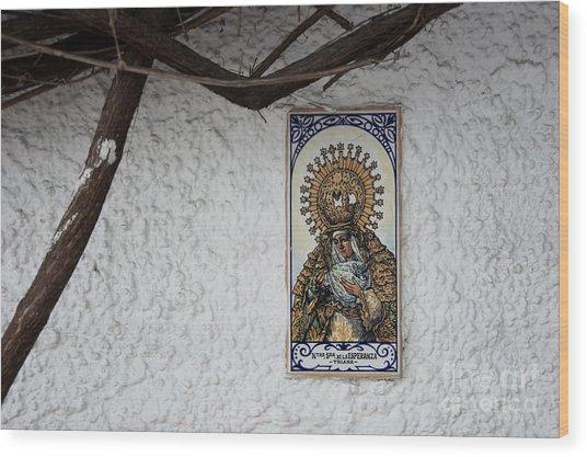 Nostra Senora Wood Print by Agnieszka Kubica