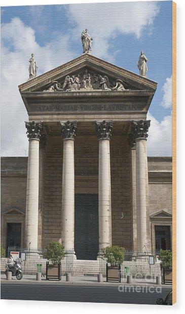 Notre Dame De Lorette Wood Print by Fabrizio Ruggeri