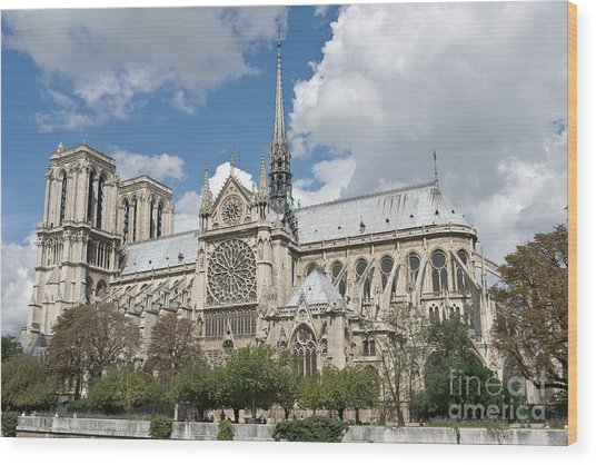 Notre-dame-de-paris I Wood Print by Fabrizio Ruggeri
