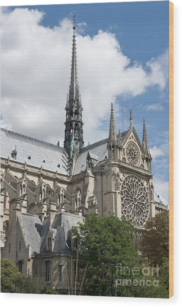 Notre-dame-de-paris IIi Wood Print by Fabrizio Ruggeri