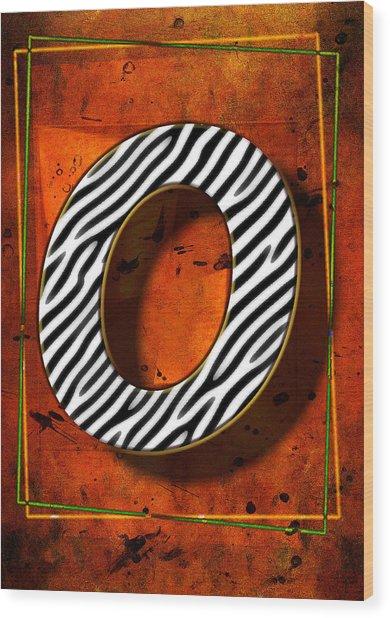 O Wood Print