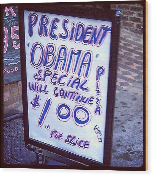 #obama Special Continues You Guys Wood Print