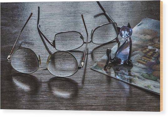 Occational Still Life Wood Print