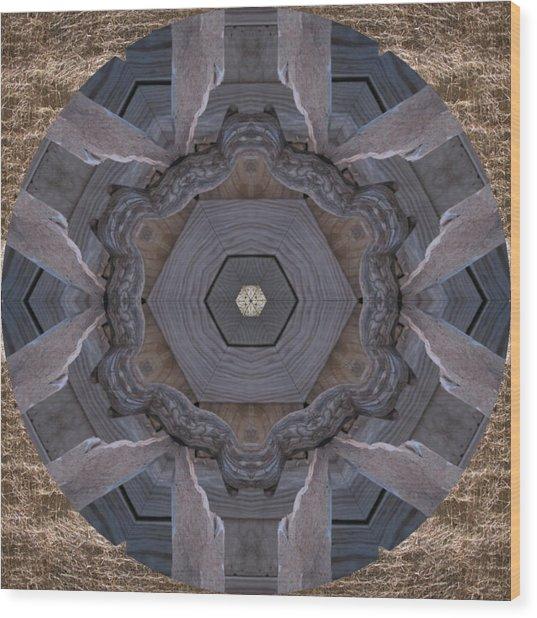 Occoneechee Wood Print