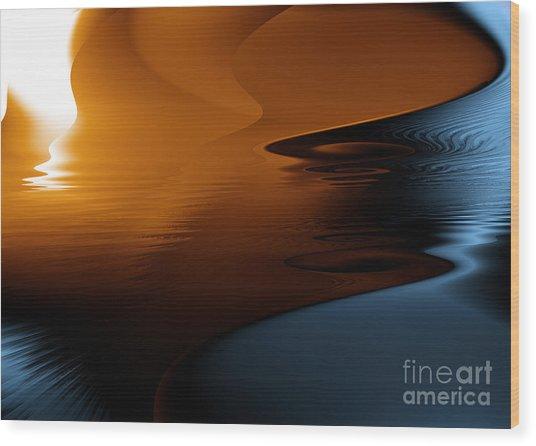 Ocean Byzarre Wood Print