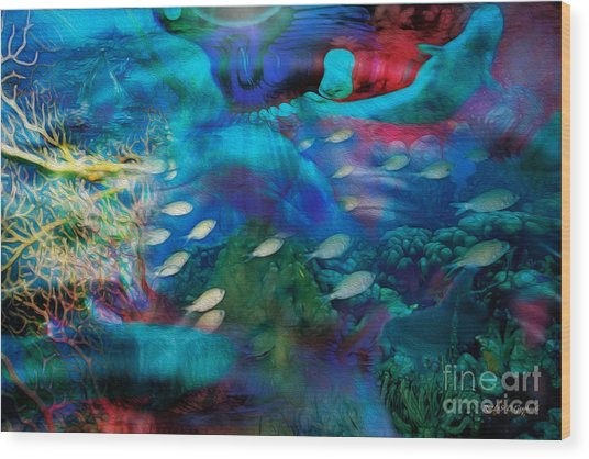 Ocean Dreams Wood Print