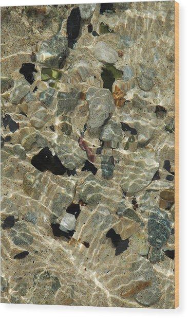 Offshore Floor Wood Print by George Crawford