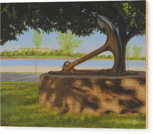 Oh Summer Wood Print