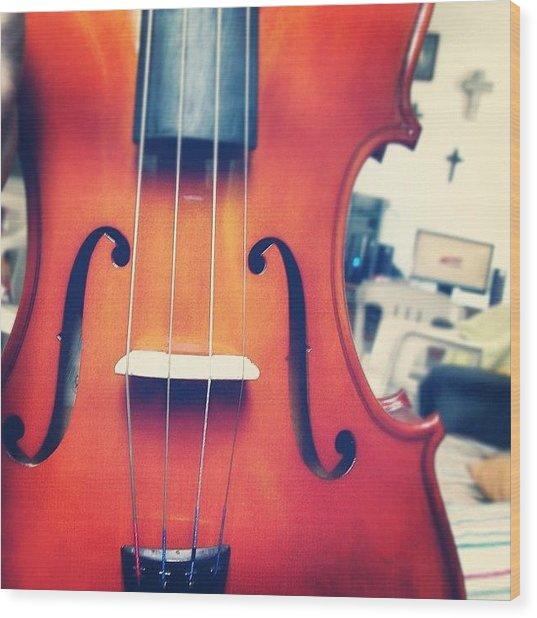 #olazaran #andreego #music #viola Wood Print