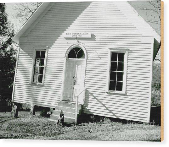 Old Gauley Church Wood Print