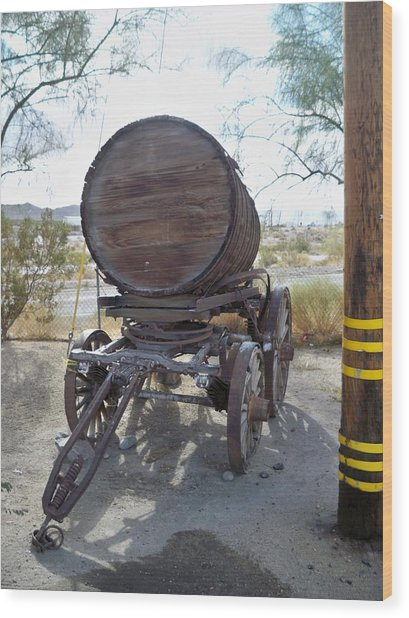 Old Horse Drawn Beer Wagon Wood Print by Jose Melo