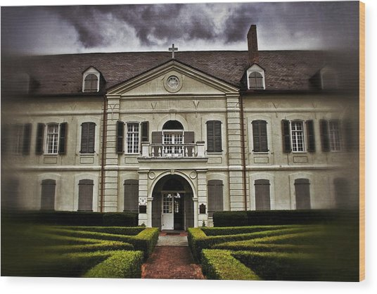 Old Ursuline Convent Wood Print