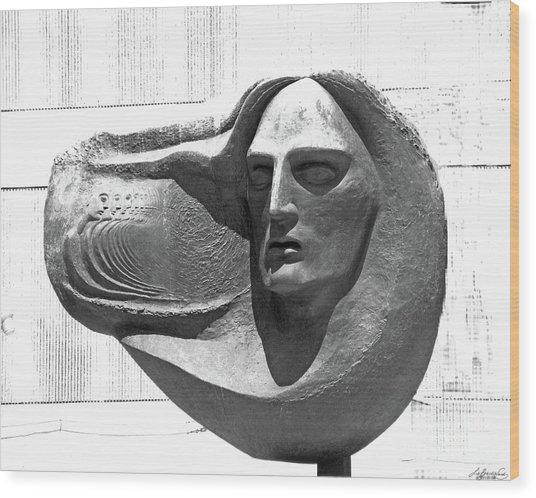 Oliver Pollock Statue  Wood Print