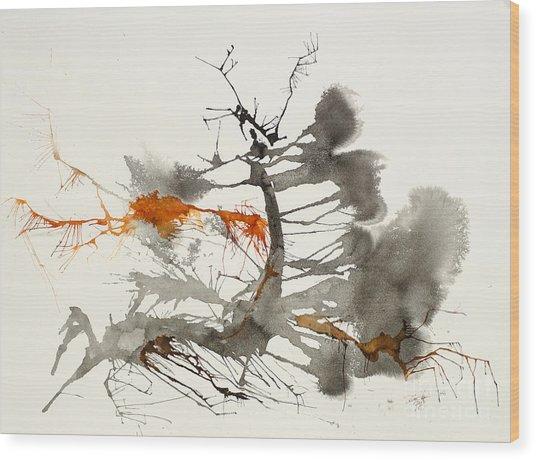 One Wood Print by David W Coffin