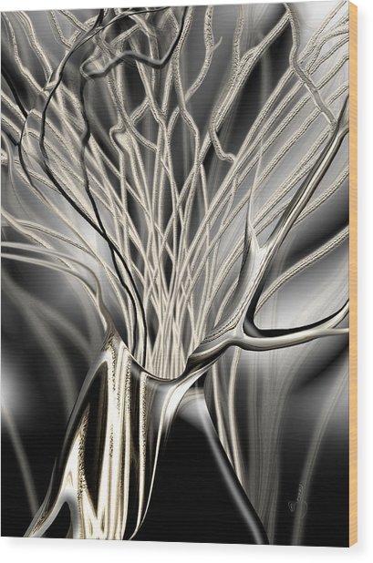 Onyx Growth The Begining Wood Print