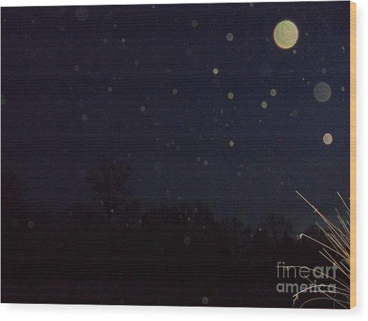 Orb Supreme Wood Print